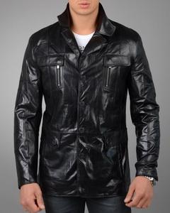 Купить Мужскую Кожаную Куртку Френч