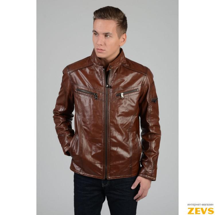 Мужские Кожаные Куртки Весна-Осень
