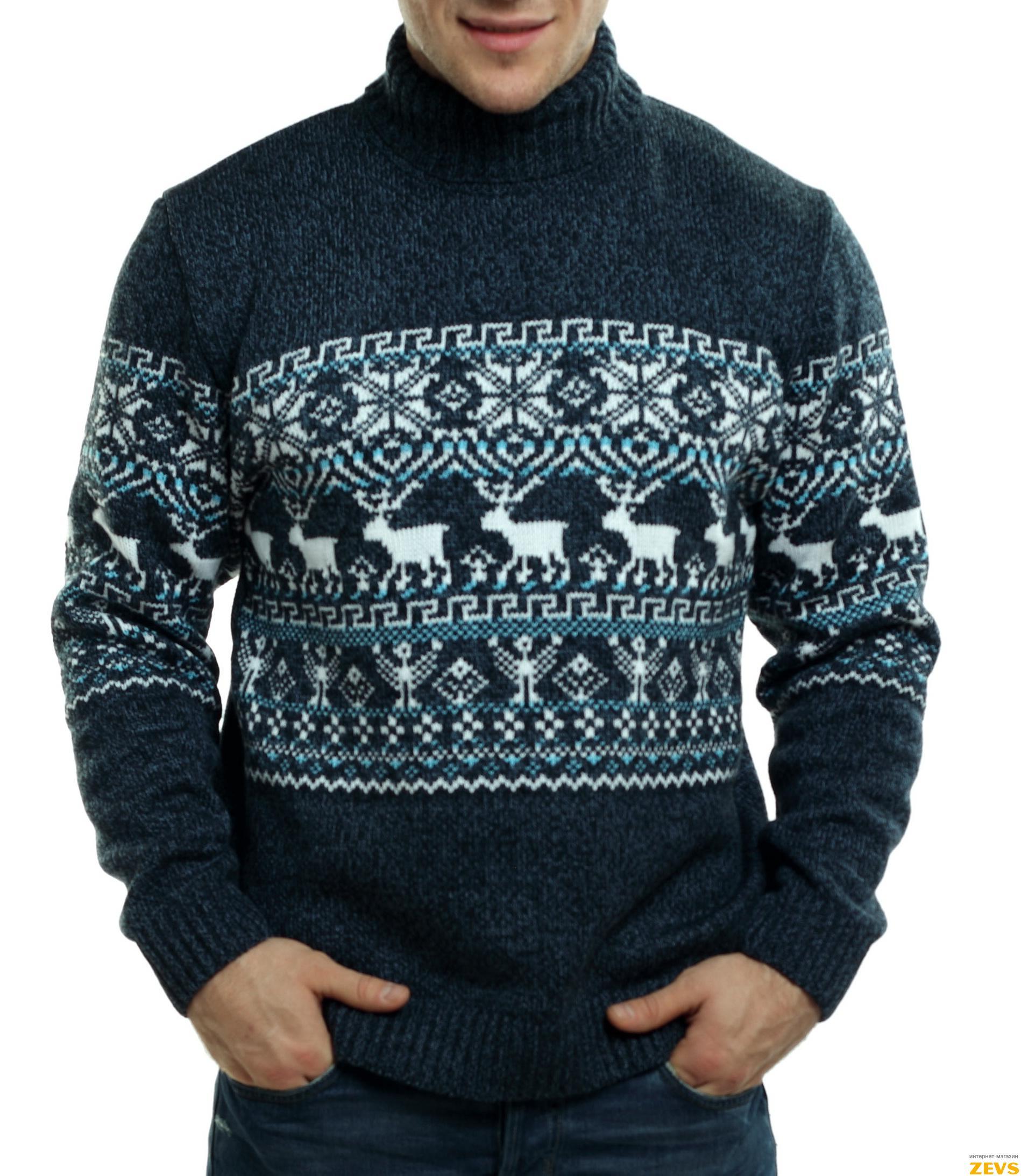 Финский узор свитер