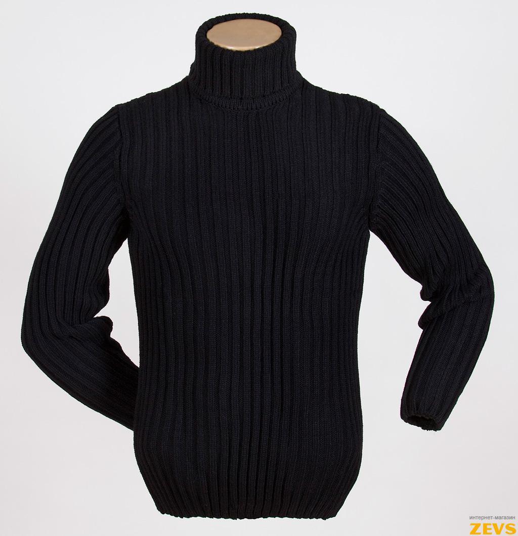 Мужской пуловер с косами с доставкой
